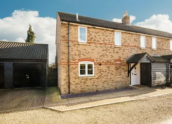 Thumbnail 3 bed semi-detached house for sale in Bellevue Close, Somersham, Huntingdon