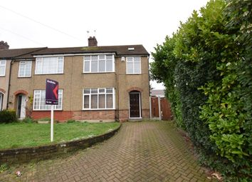 Thumbnail 4 bed semi-detached house to rent in Boundary Road, Gidea Park, Romford