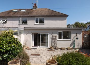 Thumbnail 2 bed semi-detached house to rent in New Road, Brixham