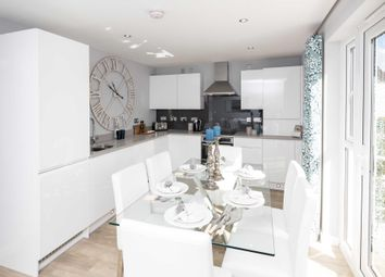 "Thumbnail 3 bedroom semi-detached house for sale in ""Craigend"" at Greystone Road, Kemnay, Inverurie"