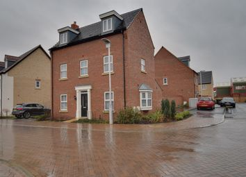 Thumbnail 3 bed detached house for sale in Jubilee Close, Sandy, Bedfordshire
