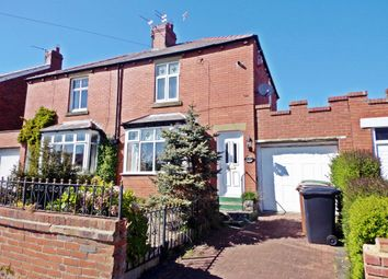 Thumbnail 2 bed semi-detached house for sale in South Riggs, Bedlington
