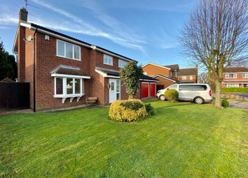 Thumbnail 4 bed detached house for sale in Ashwin Gate, Quadring, Spalding