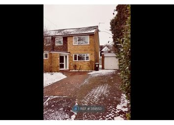 Thumbnail 4 bed semi-detached house to rent in Foxfield Close, Northwood