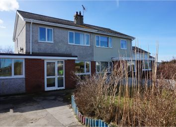 Thumbnail 4 bed semi-detached house for sale in Cae Garnedd Estate, Cemaes Bay