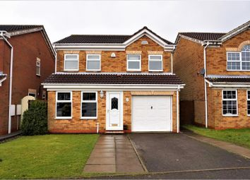 Thumbnail 4 bed detached house for sale in Claymar Drive, Newhall, Swadlincote