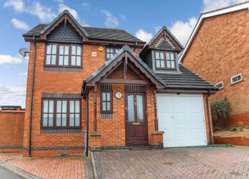Thumbnail 4 bed detached house for sale in St. Lukes Way, Nuneaton