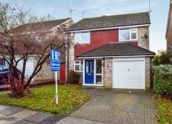 Thumbnail 4 bed detached house for sale in Balliol Close, Crawley