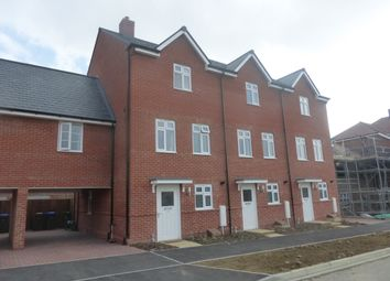 Thumbnail 3 bed town house to rent in Sargent Way, Broadbridge Heath, Horsham