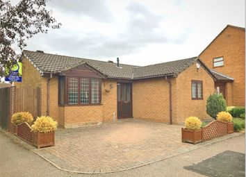 Thumbnail 2 bed detached bungalow for sale in Royce Close, Corby, Northamptonshire