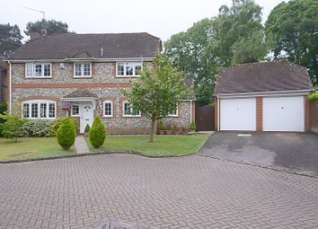 Thumbnail 4 bed detached house for sale in Hawkesworth Drive, Bagshot