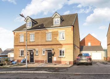 Thumbnail 4 bed semi-detached house for sale in Ffordd Y Glowyr, Betws, Ammanford