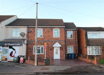Thumbnail 5 bed semi-detached house for sale in Chapel Lane, Lichfield