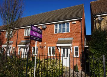Thumbnail 2 bed end terrace house for sale in Mayflower Road, Chafford Hundred
