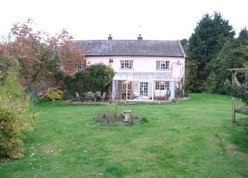 Thumbnail 4 bedroom detached house for sale in Potters Street, Theberton, Leiston