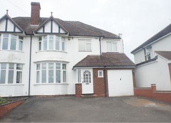 Thumbnail 4 Bed Semi Detached House For Sale In Birmingham Road Shenstone Lichfield
