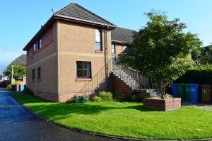 Thumbnail 2 bed flat to rent in The Byres, Rosyth