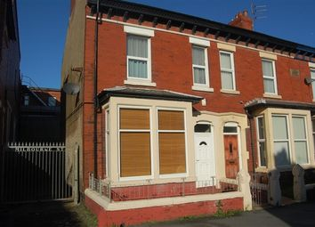 Thumbnail 2 bed flat to rent in Milbourne Street, First Floor Flat, Blackpool