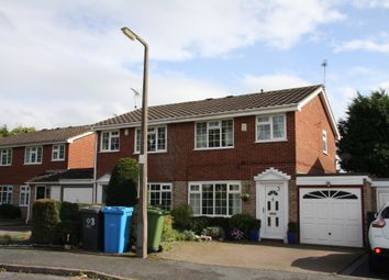 Thumbnail 3 bed semi-detached house to rent in Campion Close, Wombourne, Wolverhampton