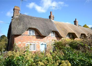 Thumbnail 2 bed semi-detached house for sale in Marsh Cottages, Weston, Newbury