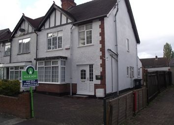 Thumbnail 3 bed semi-detached house to rent in Park Road East, Wolverhampton