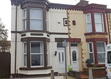 Thumbnail 3 bed end terrace house for sale in Cedar Street, Bootle, Merseyside