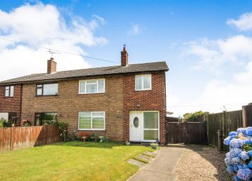 Thumbnail 3 bed semi-detached house for sale in Stanhope Crescent, Stoke Bardolph, Nottingham