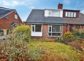 Thumbnail 3 bed semi-detached bungalow for sale in Rydal Road, Little Lever, Bolton