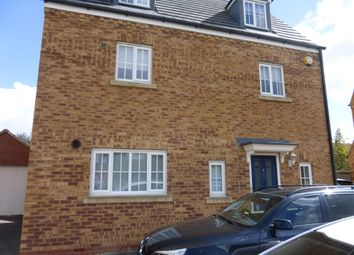 Thumbnail 4 bed property to rent in Deer Valley Road, Peterborough