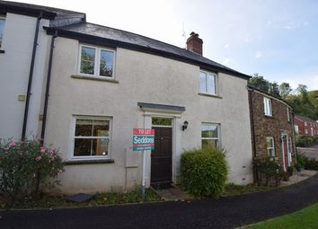 Thumbnail 3 bed terraced house to rent in Ashleigh Park, Bampton, Tiverton