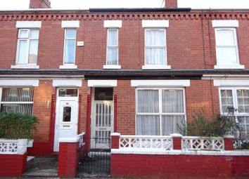 Thumbnail 3 bed terraced house for sale in Darnley Street, Old Trafford, Manchester.