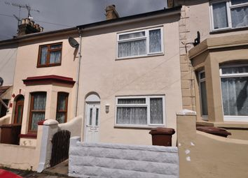 Thumbnail 2 bed terraced house to rent in Seaview Road, Gillingham