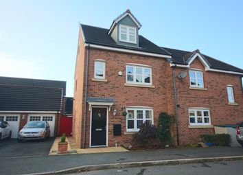 Thumbnail 4 bed town house for sale in Sharrock Street, Buckshaw Village, Chorley