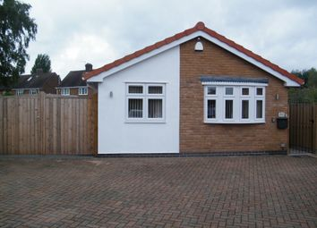 Thumbnail 2 bed detached bungalow for sale in Oak Drive, Nuthall, Nottingham