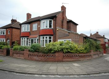 Thumbnail 3 bed detached house for sale in Danesmoor Crescent, Darlington