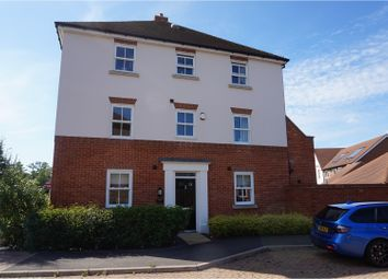 Thumbnail 4 bed town house for sale in Woodman Way, Horley