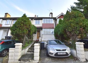 Thumbnail 3 bed terraced house to rent in Whytecliffe Road South, Purley, Surrey
