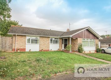 Thumbnail 3 bedroom bungalow for sale in Warwick Avenue, Halesworth