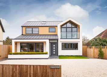 Thumbnail 4 bed detached house for sale in Wood Lane, Kidmore End