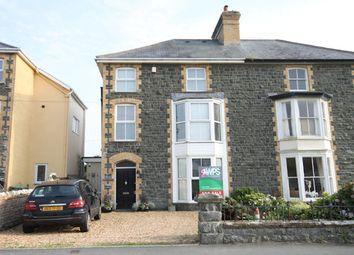 Thumbnail 5 bed semi-detached house for sale in Pier Road, Tywyn