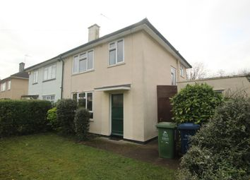 Thumbnail 3 bed semi-detached house for sale in Howard Road, Cambridge