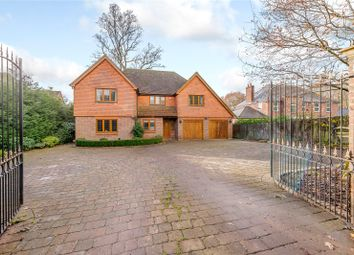 Thumbnail 6 bed detached house for sale in Manor Lodge Road, Rowland's Castle, Hampshire