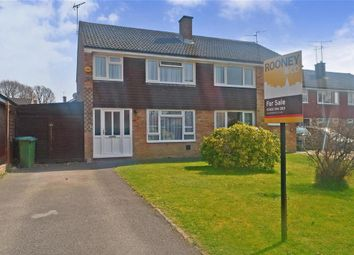 Thumbnail 3 bed semi-detached house for sale in Beech Road, Horsham, West Sussex