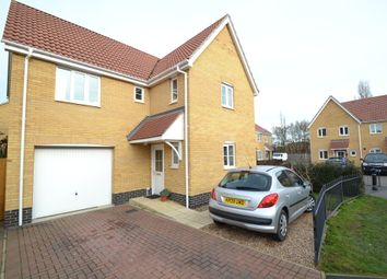 Thumbnail 4 bedroom detached house for sale in Lower Reeve, Great Cornard, Sudbury
