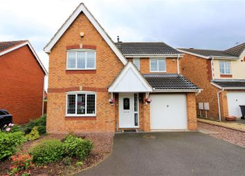 Thumbnail 4 bed detached house for sale in Lime Avenue, Measham