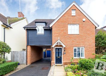 Thumbnail 3 bed detached house for sale in The Gables, Ongar, Essex