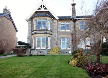 Thumbnail 4 bed semi-detached house for sale in Glasgow Road, Perth