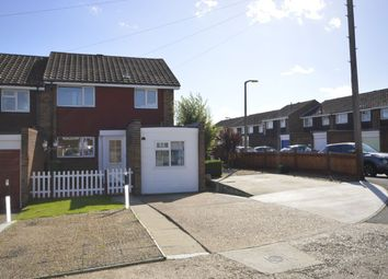 Thumbnail 3 bed semi-detached house for sale in Wall Close, Hoo, Rochester