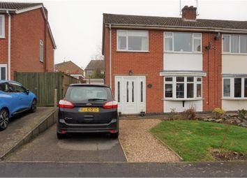Thumbnail 3 bed semi-detached house for sale in Poplar Avenue, Markfield