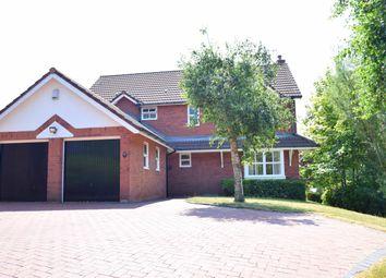 Thumbnail 4 bed detached house for sale in Bentley Park Road, Longton, Preston, Lancashire